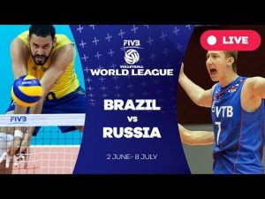 Brazil v Russia — Group 1: 2017 FIVB Volleyball World League
