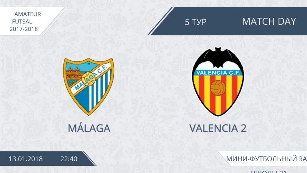 Malaga — Valencia 2 (лучшие моменты)
