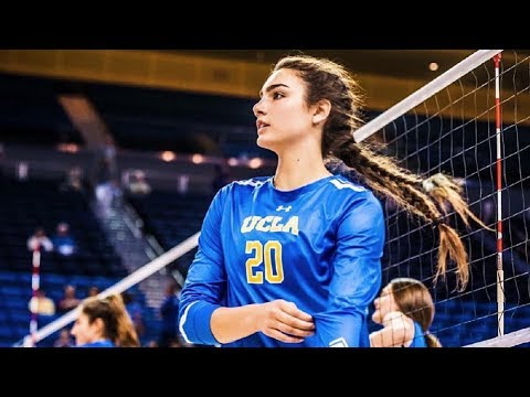 Jamie Robbins — Beautiful Volleyball Player 2017 (HD)