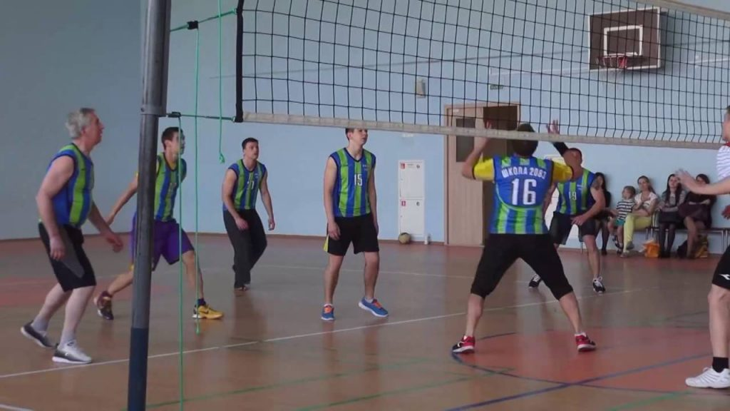 Волейбол | Ученики VS Учителя | ГБОУ Школа № 2083
