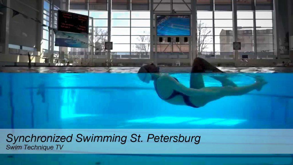 Synchronized Swimming. St.Petersburg — Cинхронное плавание