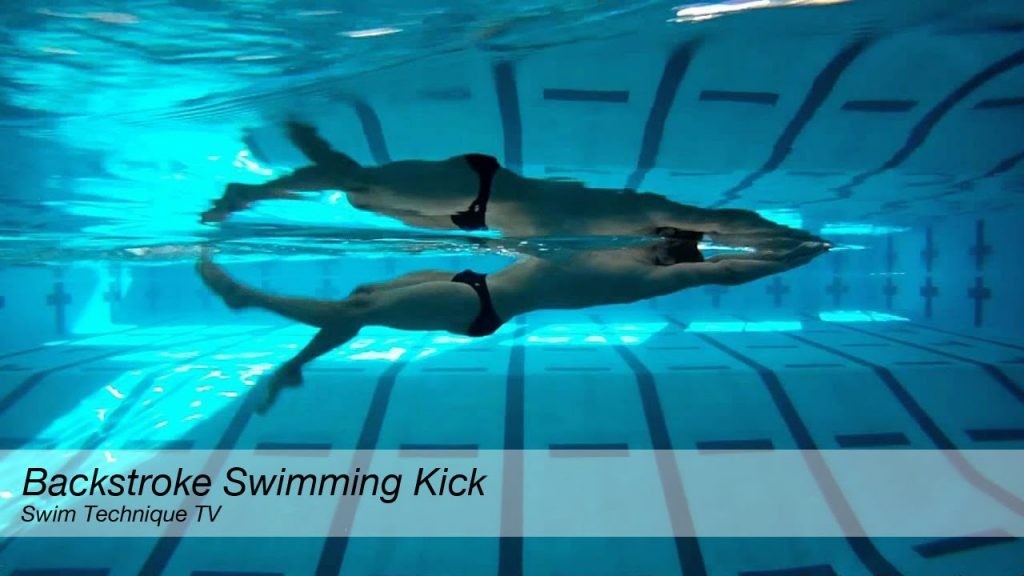 Backstroke Swimming Kick