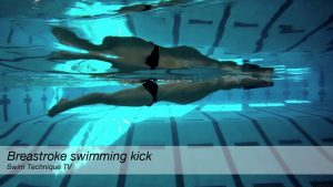 Breastroke Swimming Kick