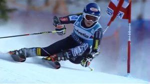 Идельано видно технику Mikaela Shiffrin Инструктор по горным лыжам в Австрии