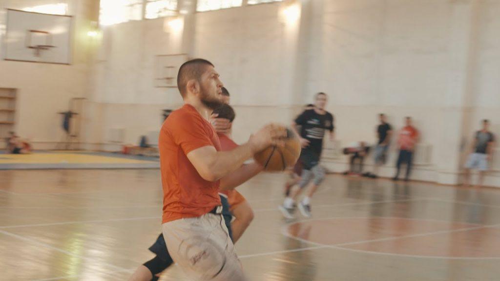 Khabib Nurmagomedov plays «Dagestani» Basketball during Ramadan