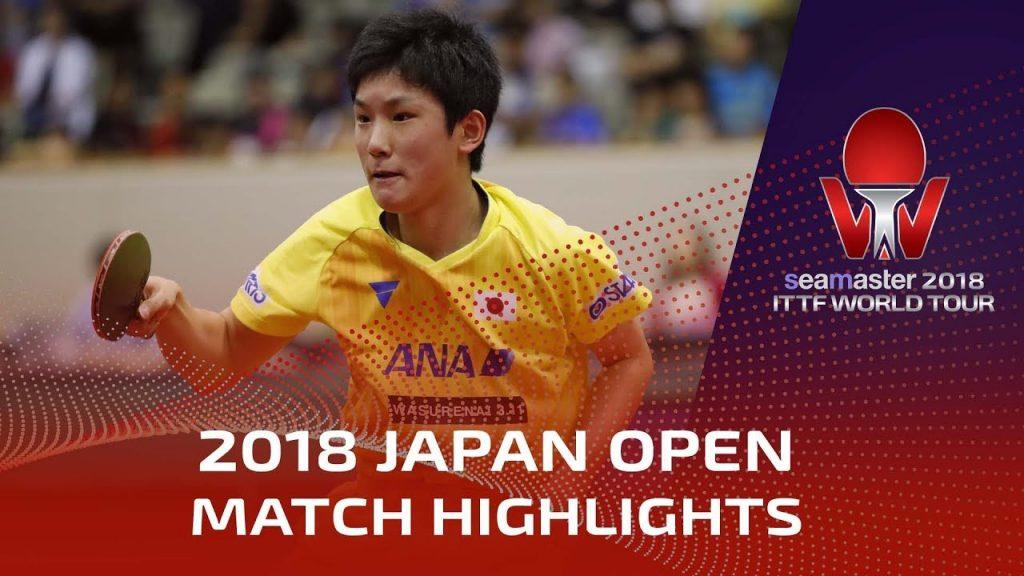 Harimoto Tomokazu vs Lee Sangsu | 2018 Japan Open Highlights (1/2)