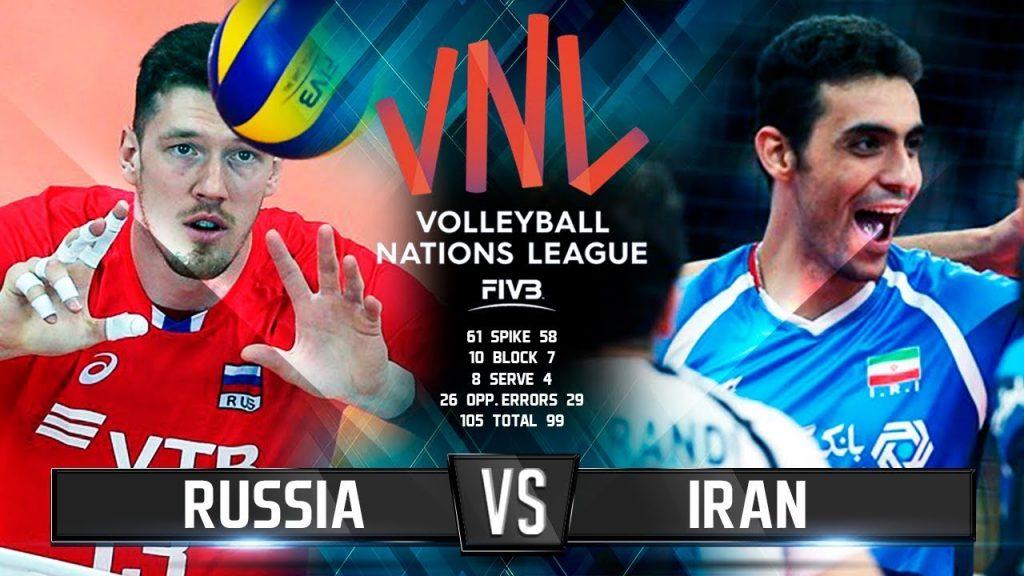 Волейбол | Россия vs Иран | Лига Наций 2018 / Russia vs Iran | Volleyball | Nations League 2018