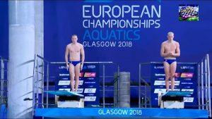 Прыжки в воду. Золотая медаль!