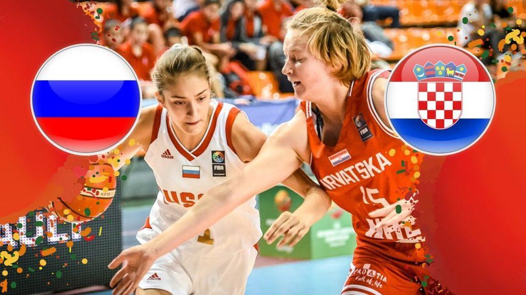 Russia v Croatia — Round of 16 — Full Game — FIBA U16 Women's European Championship 2018