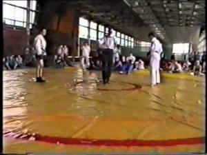 Карате Кекусинкай против боевого самбо