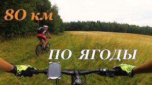 На велосипеде по ягоды / Покатушка за малиной / 18.07.2018