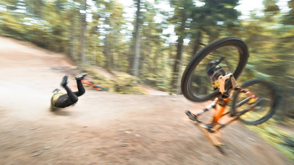 Backflip Challenge on Downhillbike |SickSeries #57
