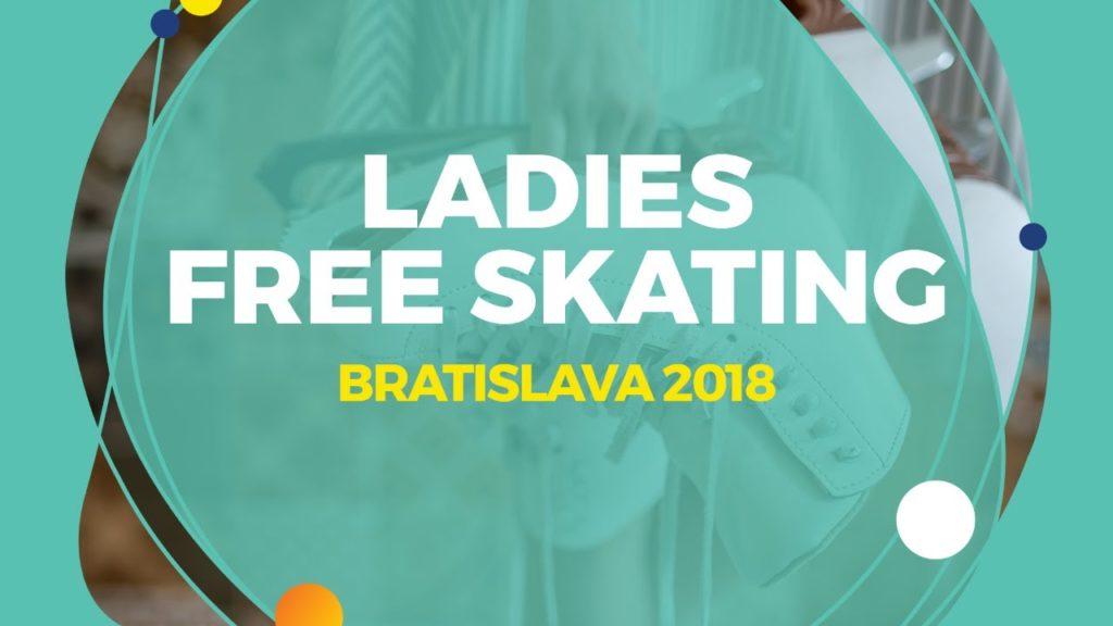 Anna Tarusina (RUS) | Ladies Free Skating | Bratislava 2018