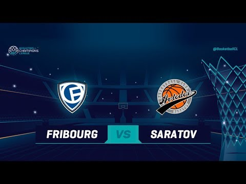 Fribourg Olympic v Avtodor Saratov — Full Game — Qualif. Rd. 1 — Basketball Champions League 2018-19