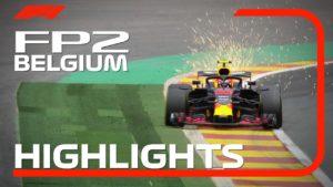 2018 Belgian Grand Prix | FP2 Highlights