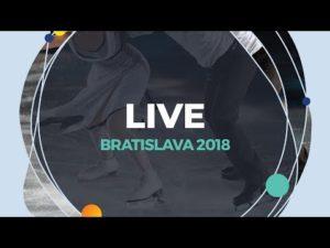 LIVE 🔴 | Ladies Free Skating | Bratislava 2018