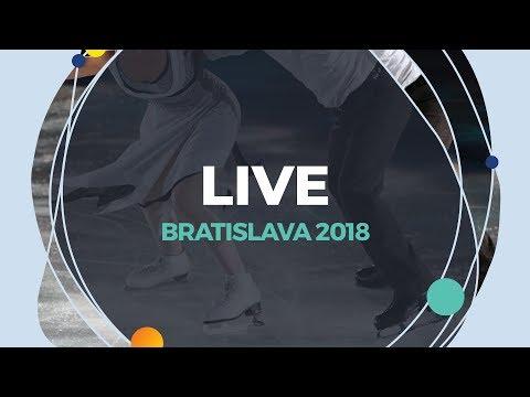 LIVE 🔴 | Ice Dance Rhythm Dance | Bratislava 2018