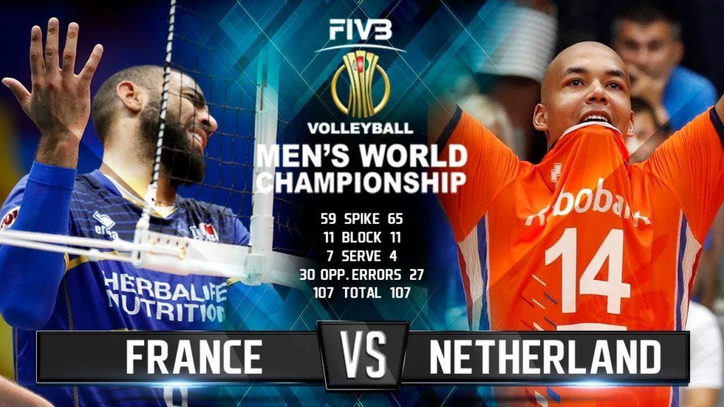 France vs. Netherlands | Volleyball Highlights | Men's World Championship 2018