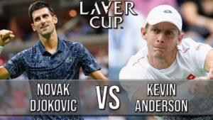 Novak Djokovic Vs Kevin Anderson — Laver Cup 2018 (Highlights HD)