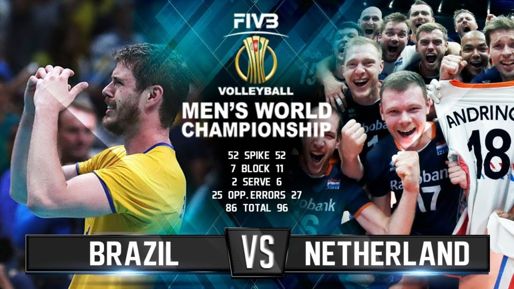 Brazil vs. Netherlands | Volleyball Highlights | Men's World Championship 2018