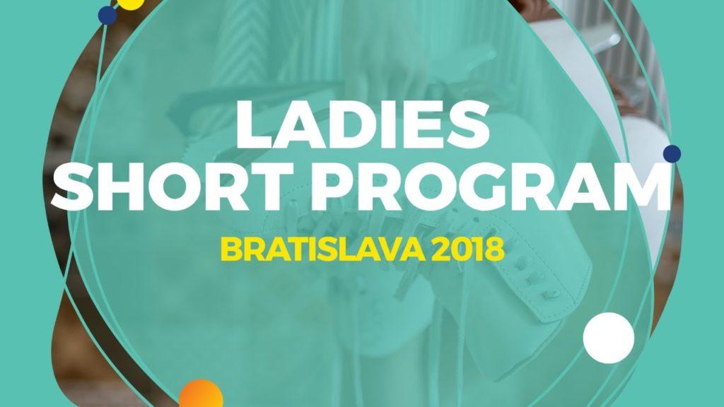 Anna Tarusina (RUS) | Ladies Short Program | Bratislava 2018