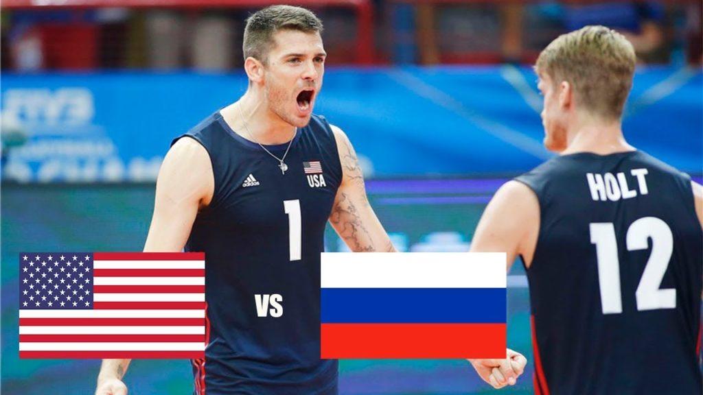 USA vs Russia | Highlights | Men's World Championship 2018