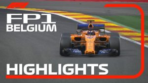 2018 Belgian Grand Prix | FP1 Highlights