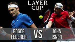 Roger Federer Vs John Isner — Laver Cup 2018 (Highlights HD)
