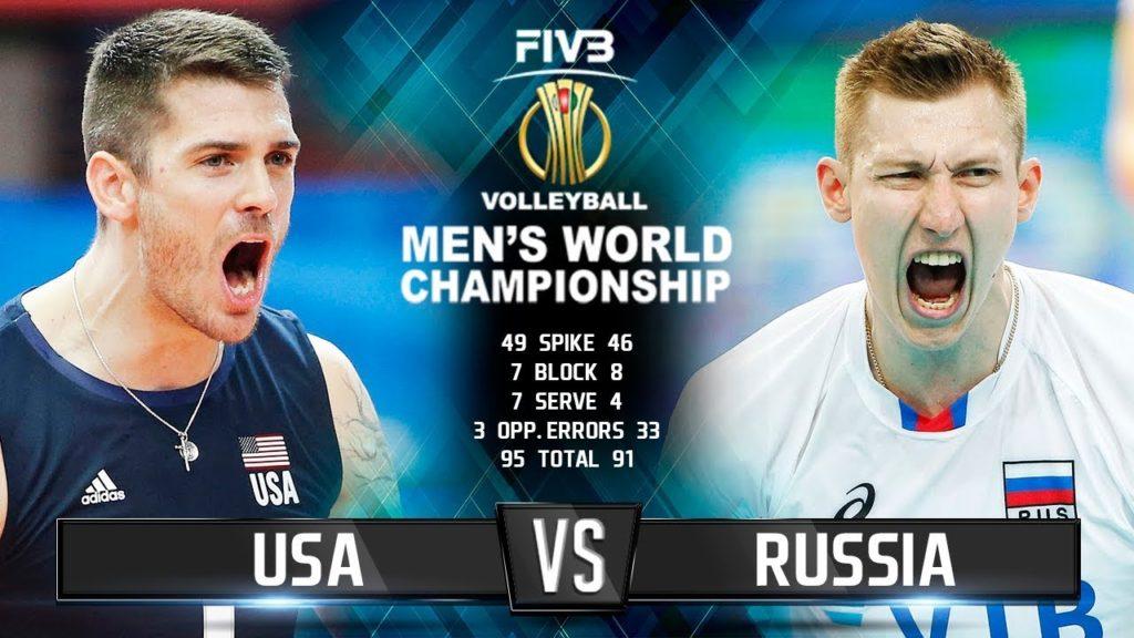 Russia vs. USA | Highlights | Men's World Championship 2018