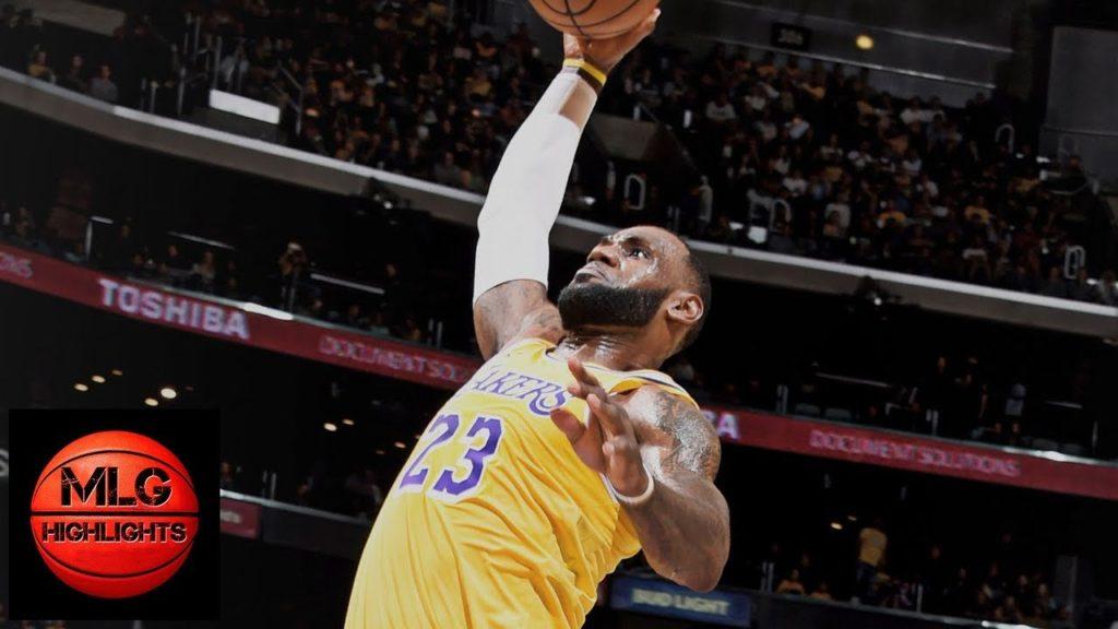 Los Angeles Lakers vs Denver Nuggets 1st Half Highlights   02.10.2018, NBA Preseason