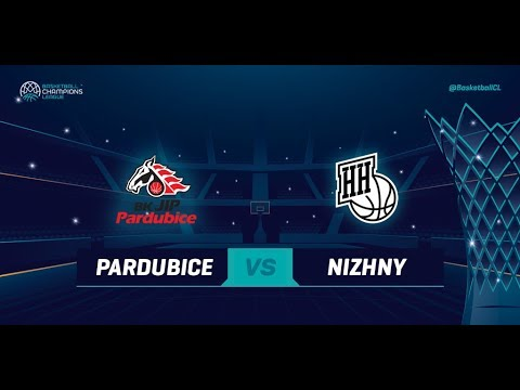 JIP Pardubice v Nizhny Novgorod — Qualif. Rd. 3 — Basketball Champions League 2018-19
