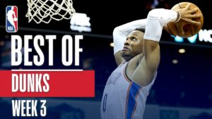 NBA's Best Dunks | Week 3