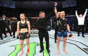 Вейли Жанг назвала главную причину поражения в бою с Роуз Намаюнас